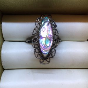 Jewelry - Southwestern inspired abalone ring 6